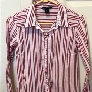 Abercrombie & Fitch Long Sleeve Blouse, Size M